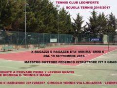 scuola tennis 2016-2017
